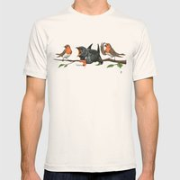 Cock Robin Mens Fitted Tee Natural SMALL