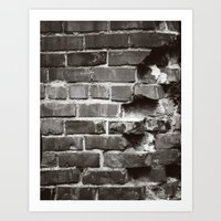 Brick House Art Print