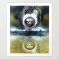 Albion One [Digital Figure Illustration] Art Print