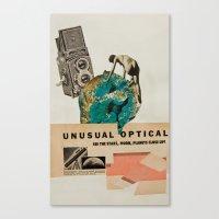 Unusual Optical  Canvas Print
