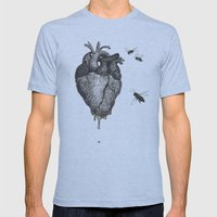 Sweet.Heart Mens Fitted Tee Athletic Blue SMALL
