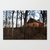 House on Hill Canvas Print