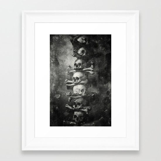 Once Were Warriors II. Framed Art Print