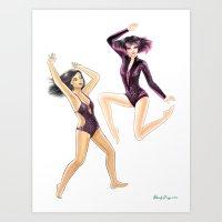 Fashion Journal: Day 7 Art Print