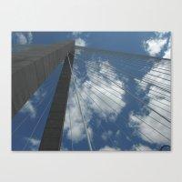 Ravenel Bridge, Charlest… Canvas Print