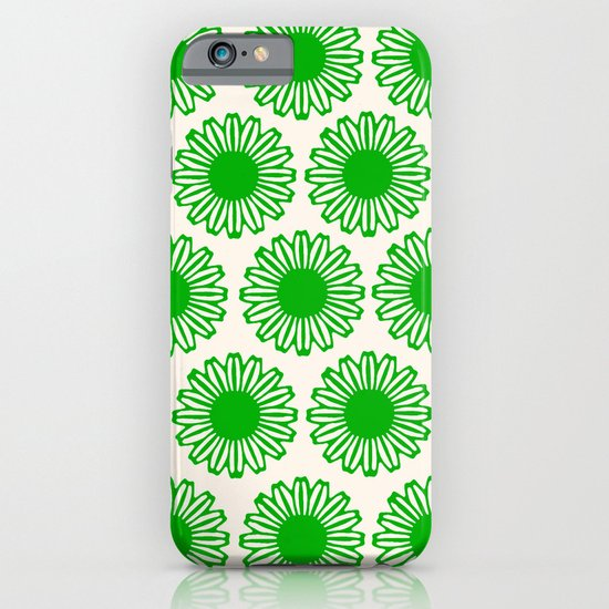 Vintage Flower_Green iPhone & iPod Case