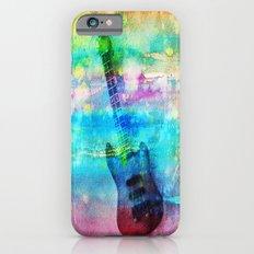 Rainbow Guitar iPhone 6 Slim Case