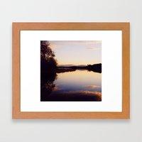Irish Lake Framed Art Print