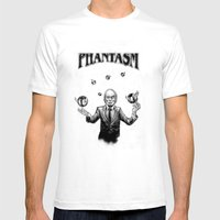 The Tall Man Mens Fitted Tee White SMALL