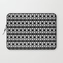 Black & White Triangles Laptop Sleeve