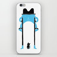 Mr Blue Boy iPhone & iPod Skin