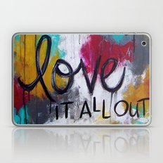 Breathe it all in. Love it all out. Laptop & iPad Skin