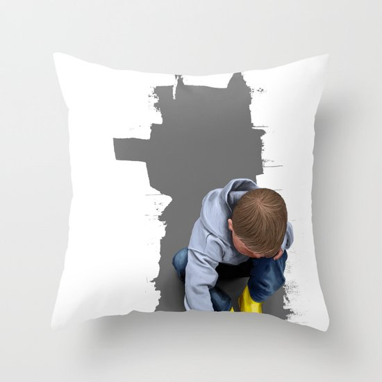 To Live with No Thought for the Future Throw Pillow