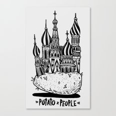 Potato People Canvas Print