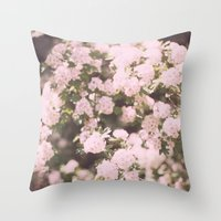 May Flowers Throw Pillow