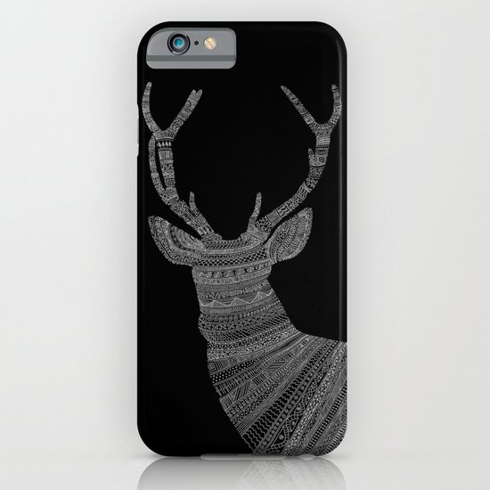 Stag / Deer (On Black) iPhone & iPod Case