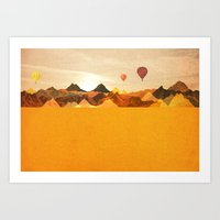 The Boonies Art Print