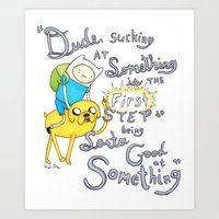 Adventure Time! Art Print