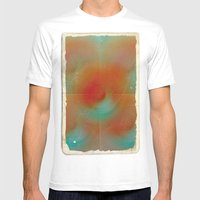 Carrot And Eggplant Mens Fitted Tee White SMALL