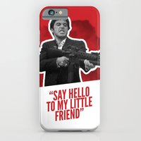 iPhone & iPod Case featuring Badass 80's Action Movie Quotes - Scarface by Casa del Kables