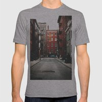 Gay Street NYC Mens Fitted Tee Athletic Grey SMALL