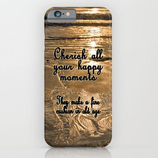 Cherish the Moment iPhone & iPod Case