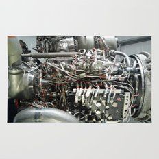 SPACE SHUTTLE ENGINE Rug