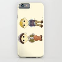 iPhone & iPod Case featuring The Twins: Hugo & Harry by Romina M.