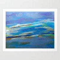 Spring Sky, Pacific Art Print