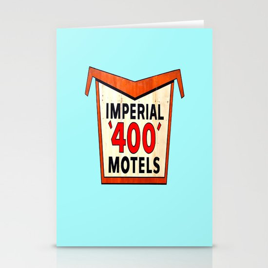 Imperial 400 Stationery Card
