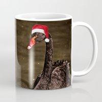Tis The Season - Swan Mug