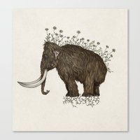 mammoth in bloom Canvas Print