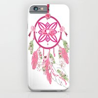 iPhone & iPod Case featuring Shabby Chic Dream Catcher by KarenHarveyCox