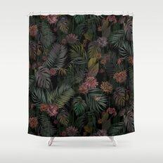 Tropical Iridescence Shower Curtain