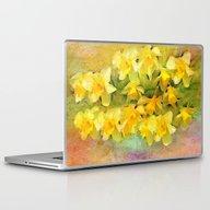 A Little Bit Of Spring -… Laptop & iPad Skin