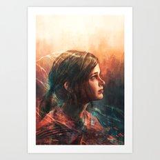 Cordyceps Art Print