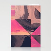 Triangular Magma Stationery Cards