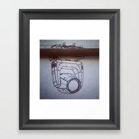 Zoom It Framed Art Print