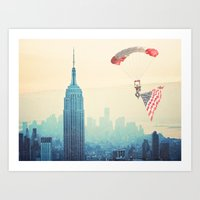 USA! USA! Art Print