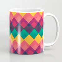 Happy Day Pattern Mug