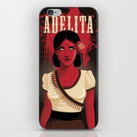 Adelita iPhone & iPod Skin