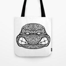 Teenage Mutante Lucha Turtles Tote Bag