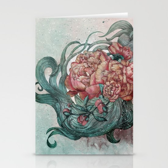 Spring Will Come Stationery Card