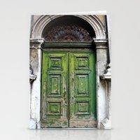 Green Door Stationery Cards