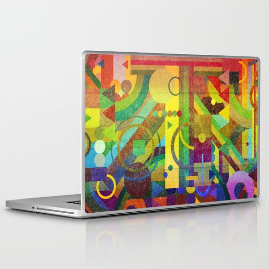 Future Patterns. Laptop & iPad Skin