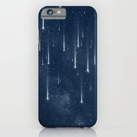 iPhone & iPod Case featuring Wishing Stars by Paula Belle Flores