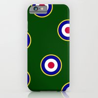 iPhone & iPod Case featuring RAF Insignia by Paul James Farr