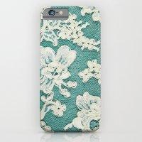 White Lace - Photo Of Vi… iPhone 6 Slim Case