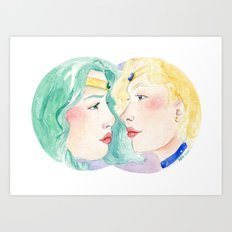 Star-Crossed Art Print