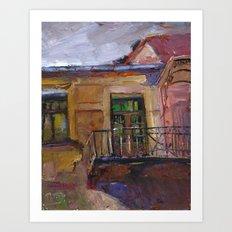 balconyIV Art Print
